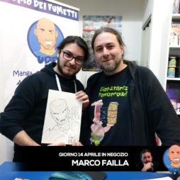 Marco Failla da Uomo dei Fumetti